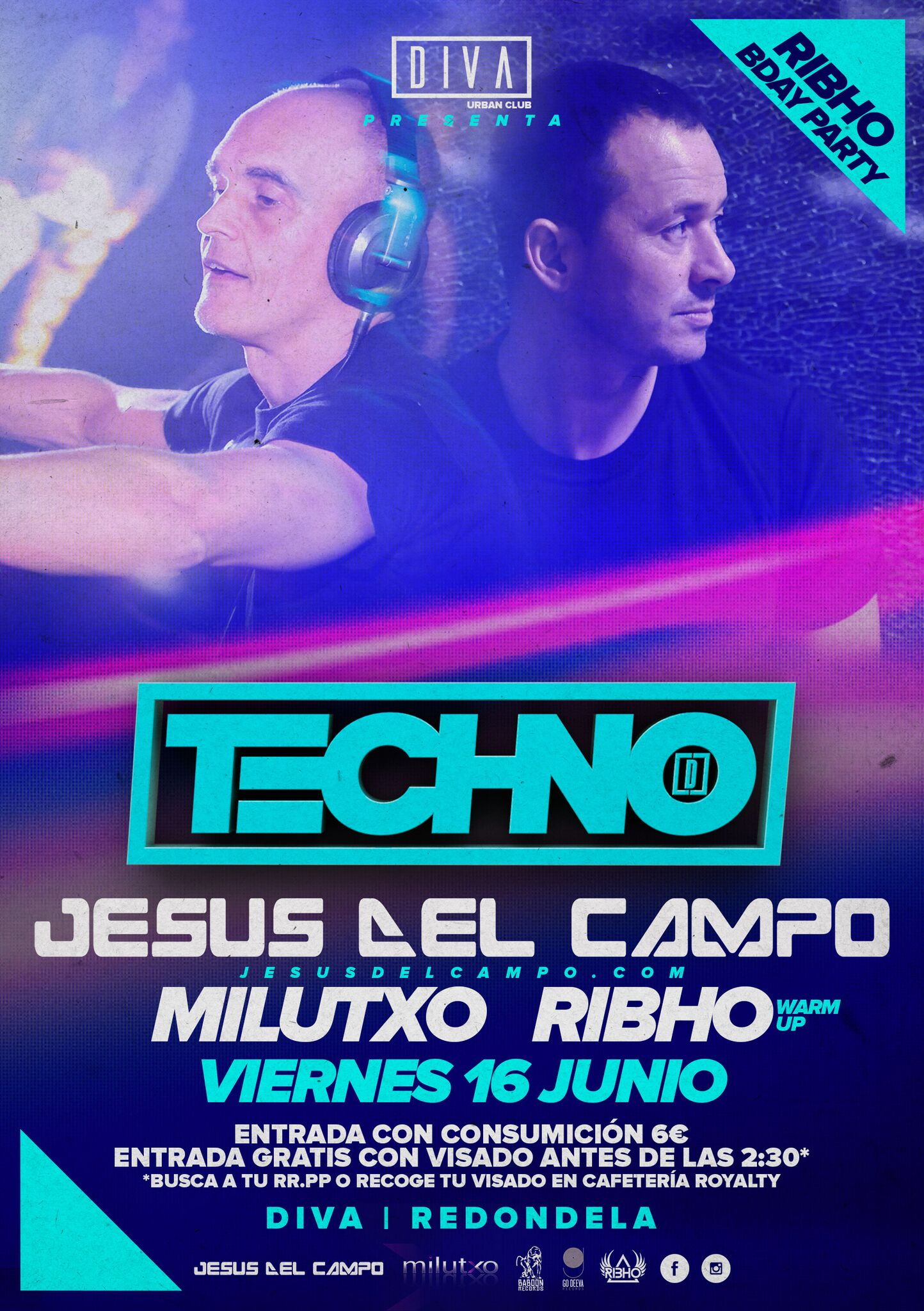 flyer Diva 16 jun 2017 jesus del campo