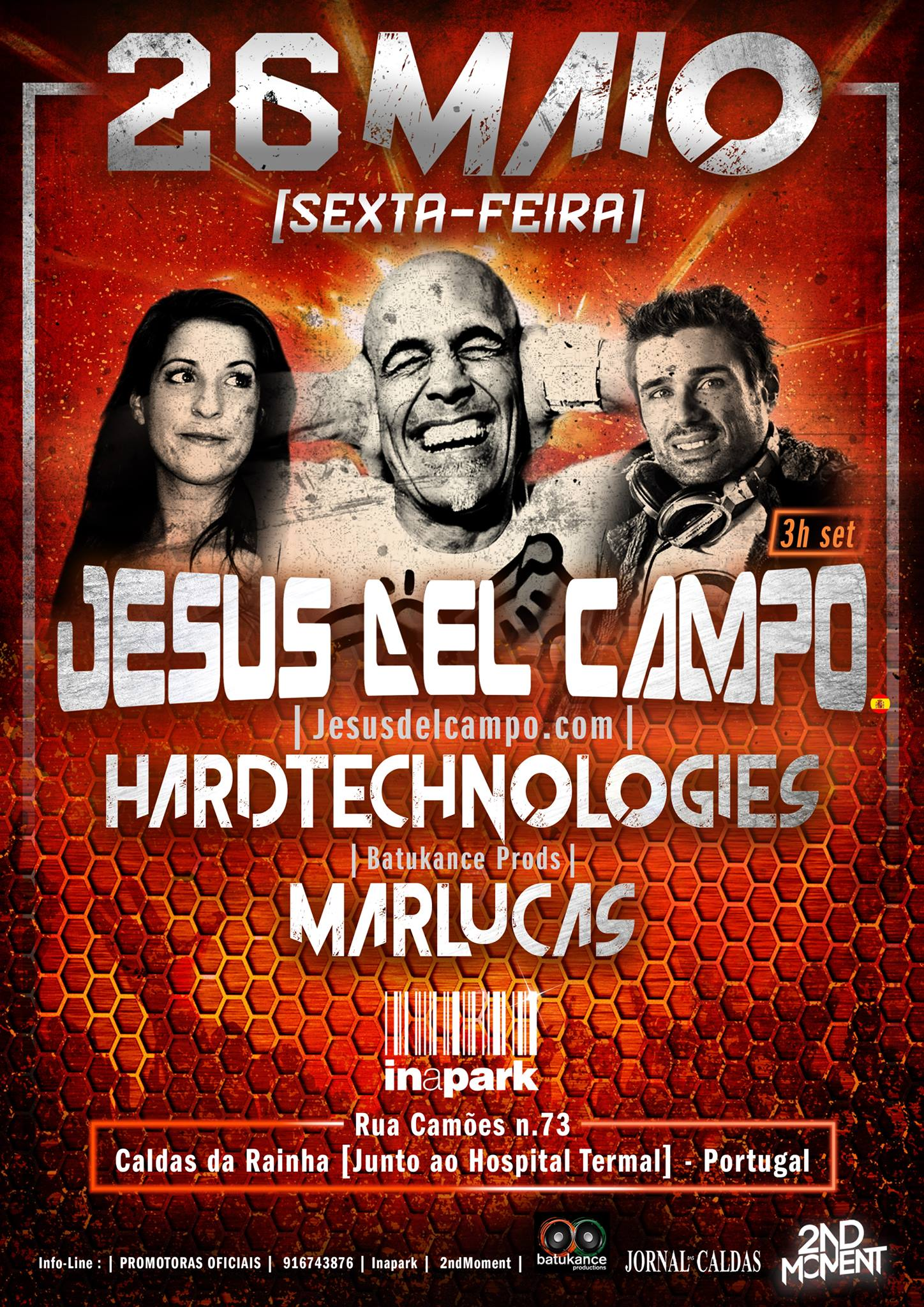flyer Inapark 26 may 2017 jesus del campo
