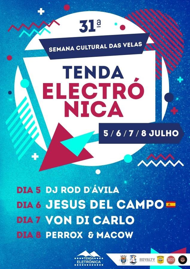 flyer semana cultural das velas 6 jul 2018 jesus del campo