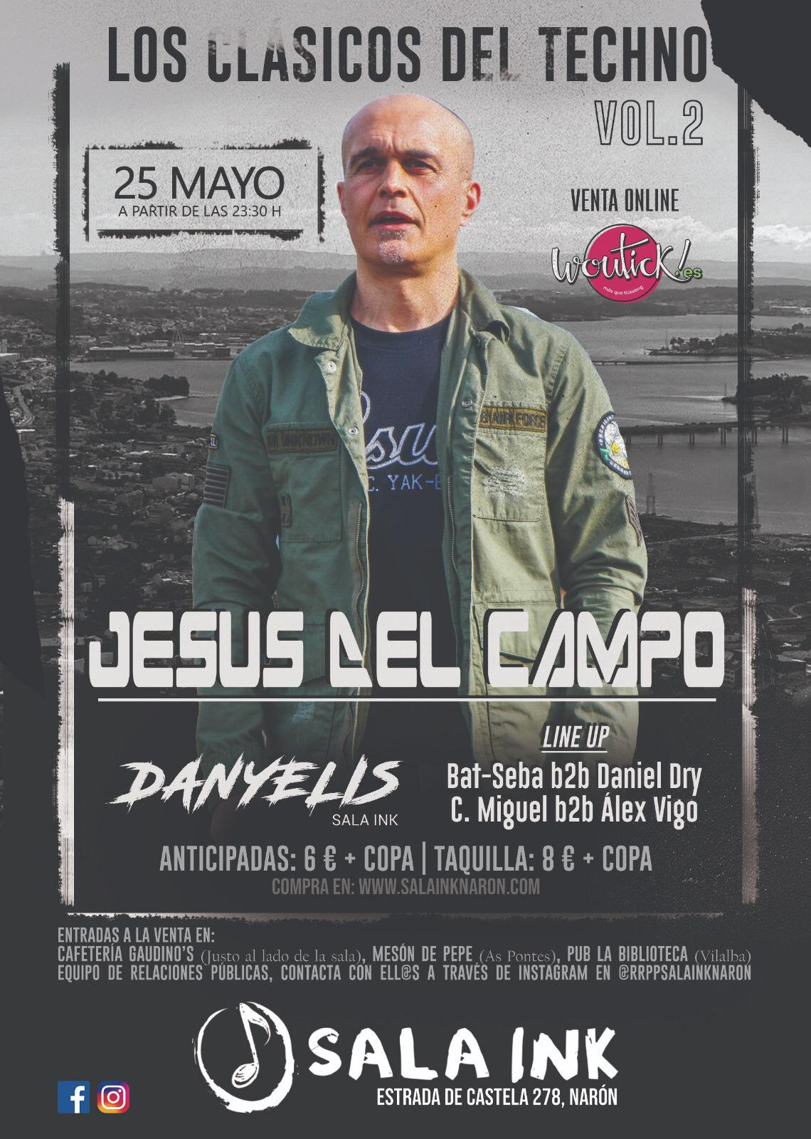 flyer Ink 25 may 2019 jesus del campo
