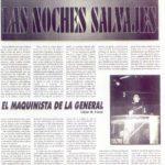 Archivo de prensa con reportaje de Jesus del Campo DJ
