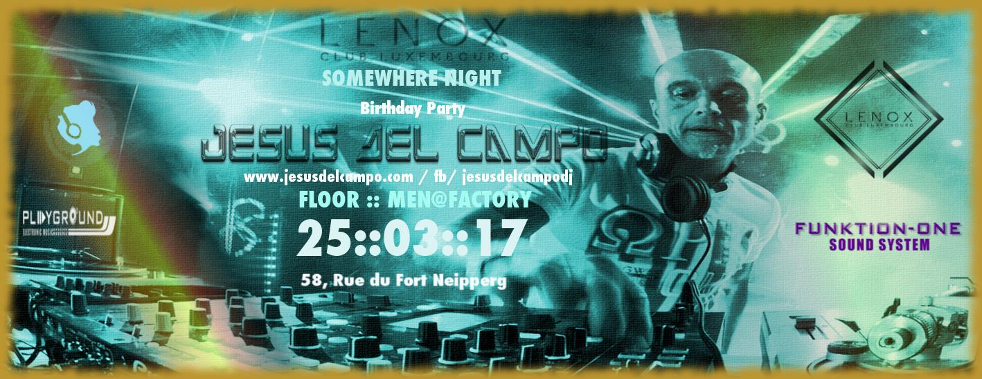 flyer Lenox club 25 mar 2017 jesus del campo