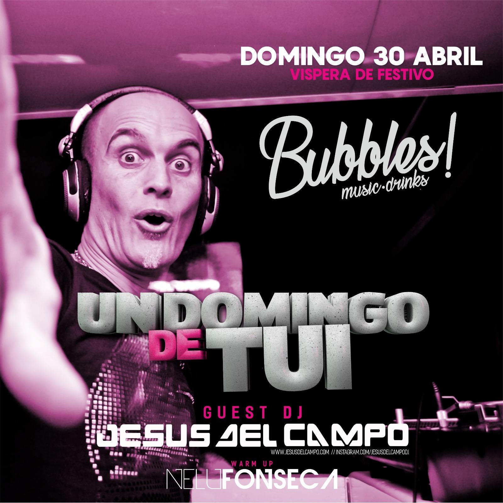 flyer Bubbles 30 abr 2017