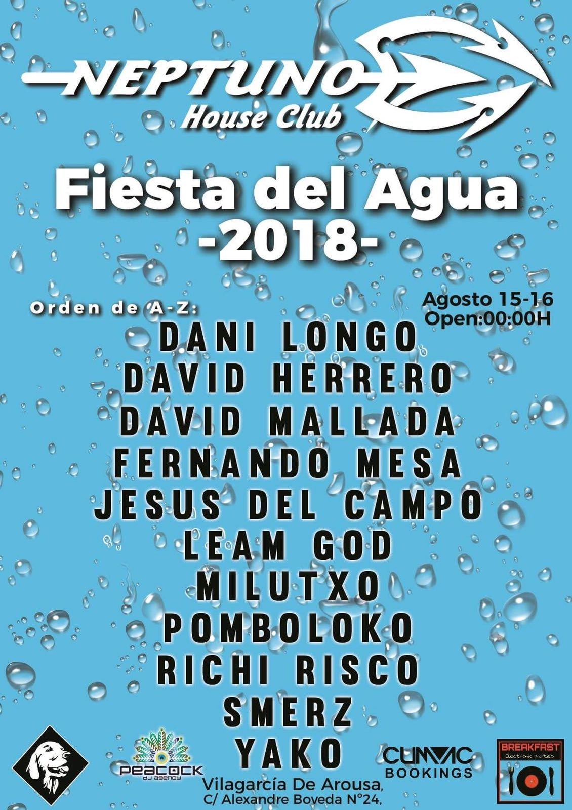 fiesta del agua 2018 jesus del campo